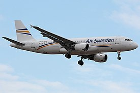 Air Sweden Airbus A320 Milinkovic.jpg