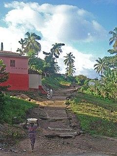 Akpafu-Todzi Place in Oti Region, Ghana