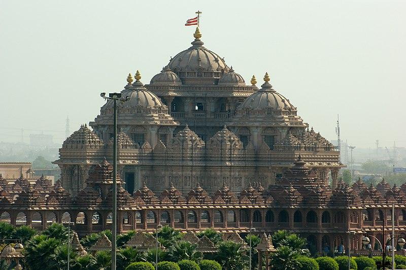 File:Akshardham temple, Delhi.jpg