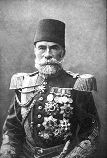 Ahmed Muhtar Pasha Ottoman grand vizier and general