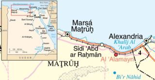 World War II location in the Second Battle of El Alamein