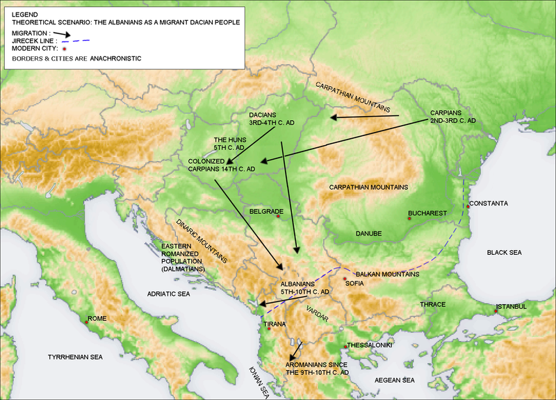 File:Albanians as a migrant Dacian people.png