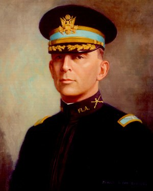 Albert H. Blanding - Blanding as commander of 2nd Florida Infantry, 1916