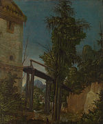 Albrecht Altdorfer - Landscape with a Footbridge - Google Art Project.jpg