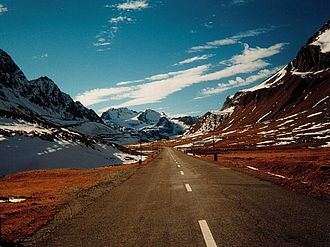 Albula Pass - Albula Pass road