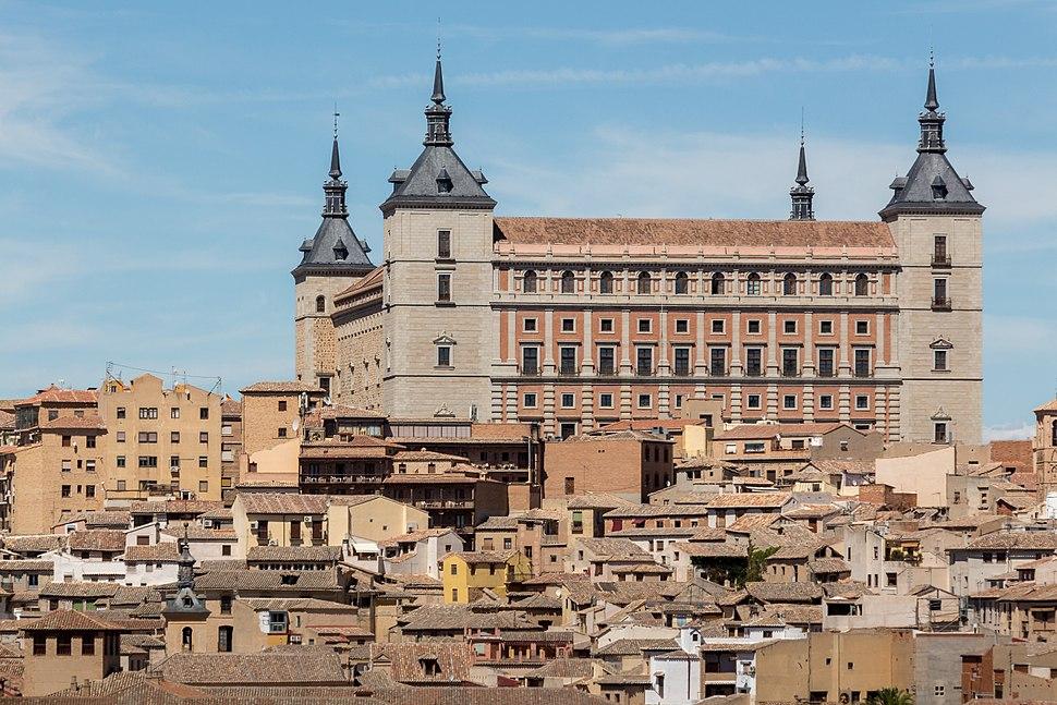 Alcazar Toledo Mirador Valle