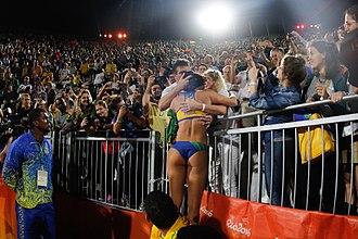 Beach volleyball at the Summer Olympics - Brasil winner silver medalist Olympics 2016