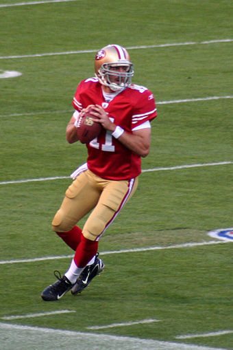 Alex Smith, the guy Kaepernick replaced ...
