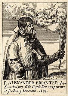 Alexander Briant Jesuit martyr