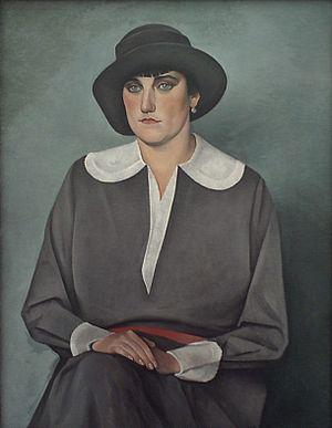 Alexander Kanoldt - Der rote Gürtel, 1929
