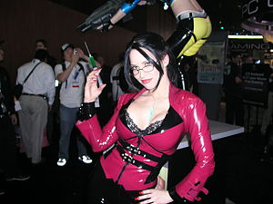 Bianca Beauchamp - Bianca Beauchamp dressed as Elexis Sinclaire at the E3 2006