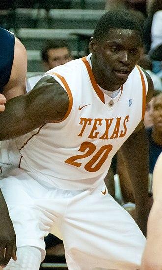 Alexis Wangmene - Wangmene playing for Texas