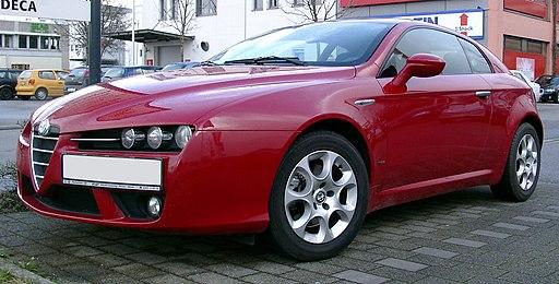 Alfa Romeo Brera Front 20070321