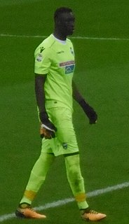 Senegalian-Italian goalkeeper