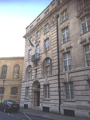 Embassy of Algeria, London - Image: Algerian Embassy in London