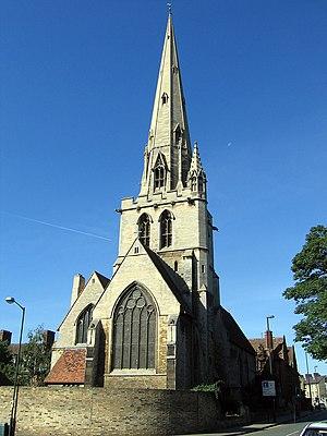 Grade I listed buildings in Cambridge - Image: All Saints' Church Cambridge exterior