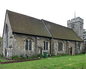 Grade II* listed buildings in the London Borough of Waltham Forest - Image: All Saints, Old Church Road, Chingford geograph.org.uk 1702095