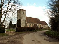All Saints church, Newton, Suffolk - geograph.org.uk - 146348.jpg