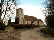All Saints church, Newton, Suffolk - geograph.org.uk - 146348.jpg