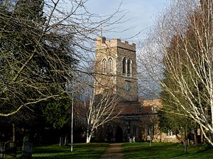 Southill, Bedfordshire - Image: All Saints church Southill (geograph 3787371)