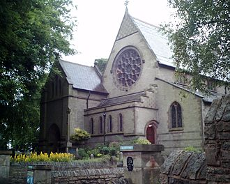 Marple, Greater Manchester - All Saints' Church, a grade II listed building from 1811