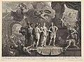 Allegorie op intocht van Johan Willem Friso en Maria Louise in Leeuwarden, 1710, RP-P-OB-83.423.jpg