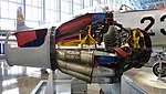 Allison J33-A-15 turbojet engine(cutaway model) right side view at Hamamatsu Air Base Publication Center November 24, 2014.jpg