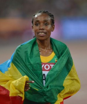 Almaz Ayana - Almaz Ayana at the 2015 World Championships