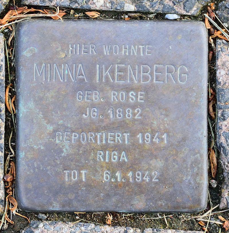 Altenbeken - 2016-05-29 - Stolperstein Minna Ikenberg.jpg