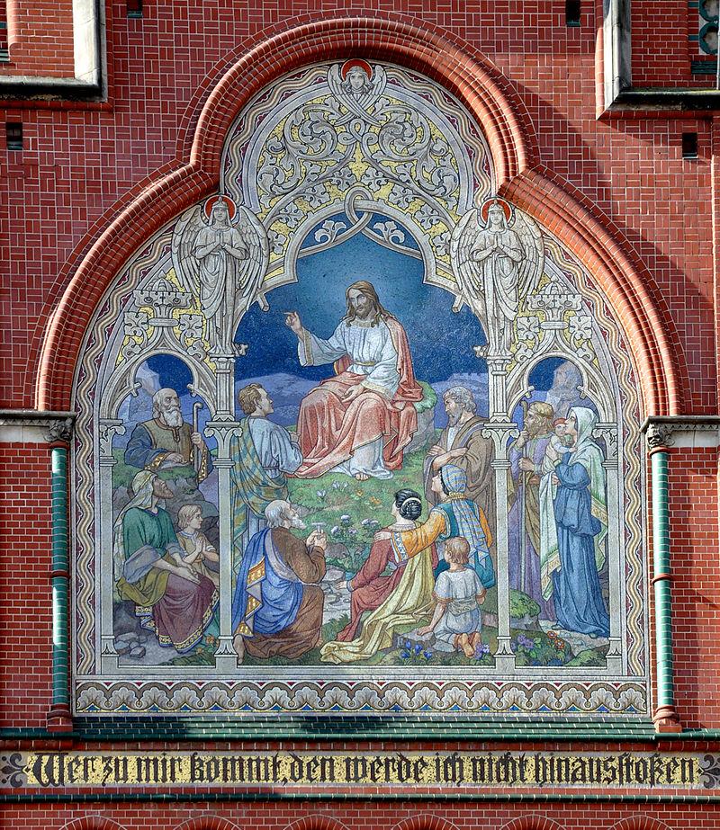 Altenburg Brüderkirche Fassade Mosaik Begrgpredigt.jpg
