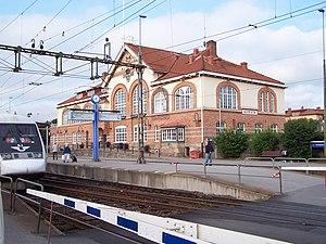 Alvesta - Image: Alvesta central station