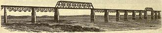 Albert Fink - Fink's Viaduct Bridge at Louisville, Kentucky