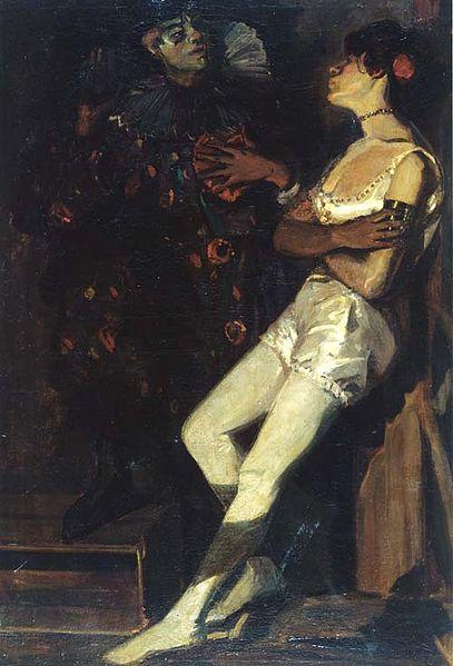 File:Amandus Faure Artistin und Pierrot.jpg