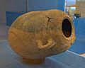 Amforisc de vora exvasada, cos de tendència ovoide, museu de la Ciutat d'Alacant.JPG