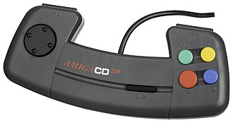 Amiga CD32 - The CD32's controller