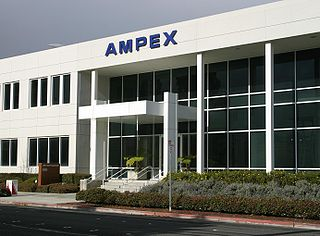 Ampex American company that pioneered the use of videotape