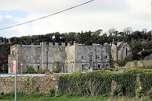 Amroth, Pembrokeshire - Amroth Castle