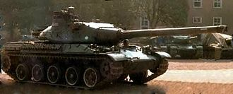 AMX-30 - One of the two 1965 pre-production vehicles.