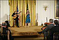 Ana Cristina sings at the White House.jpg