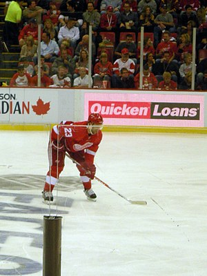 Brad Stuart - Stuart with the Red Wings in October 2010.