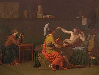 Pericles - Anaxagoras and Pericles by Augustin-Louis Belle (1757–1841)