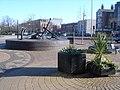 Anchors near Queen's Gardens - geograph.org.uk - 685652.jpg