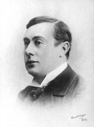 André Antoine - Antoine c. 1900, published in 1908 by Chocolats Félix Potin