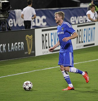 André Schürrle - Schürrle playing against Roma in 2013