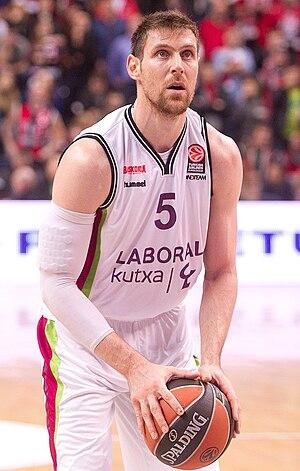 Andrés Nocioni - Nocioni with Baskonia