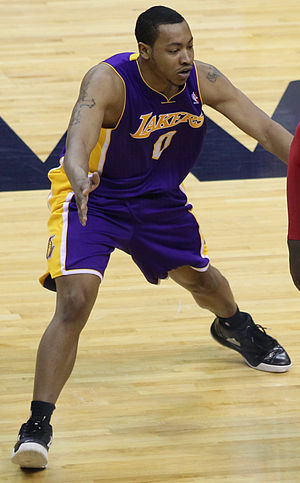 Andrew Goudelock - Goudelock with the Lakers in March 2012