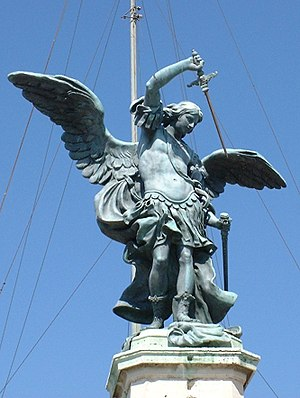 Peter Anton von Verschaffelt - Image: Angel Van Verschaffelt Sant Angelo