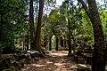 Angkor Thom east gate eastern approach.jpg