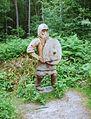 Anglo-Saxon warrior along the faestendic.JPG