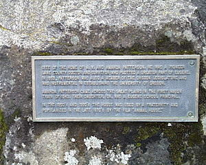 Animal House - Plaque at the Delta House site (2007)